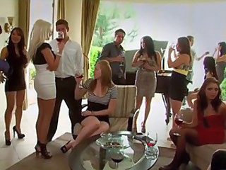 Amazing Groupsex MILF Orgy Party Swingers