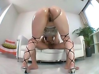 Amazing Asian Ass Blowjob Japanese Oiled Pornstar