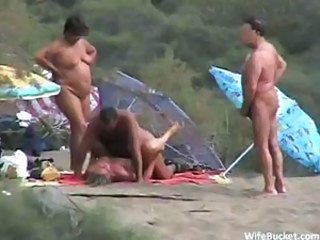 Amateur Beach  Nudist Outdoor Public Swingers