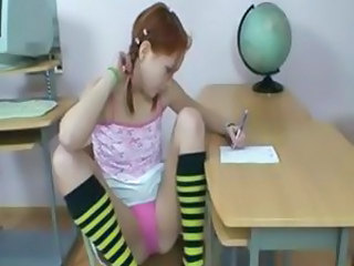 Cute Fantasy Panty School Skinny
