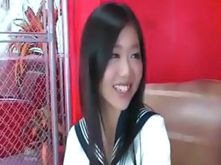 Asian Babe Cute School Uniform
