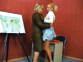 Fantasy Lesbian Old and Young Teacher Virgin Young