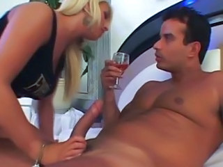 Big cock Girlfriend Handjob Latina