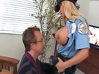 Amazing Big Tits Fantasy MILF Pornstar Uniform