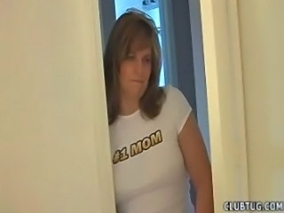 Mother catches son wanking and  ... free