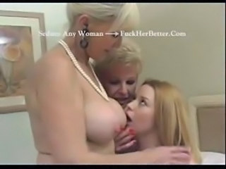 Two Mature Women vs Young Girl  ... free