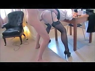 Guy gives wife a good hard shafting