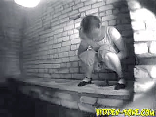 Pissing Teen Toilet Voyeur