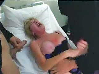 Big Tits Forced Mature Threesome