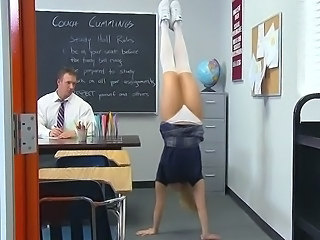 Flexible Panty School Skirt Student