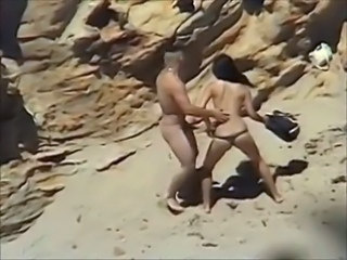Beach Brunette Hardcore Nudist Outdoor