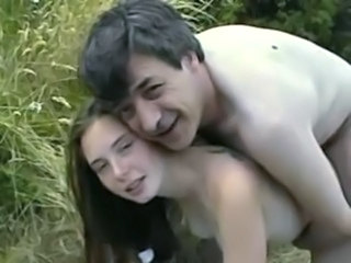 Amateur Brunette Cute Doggystyle Old and Young Outdoor Teen