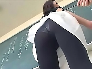 Asian MILF Pantyhose Pornstar School Student