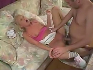 Babysitter Blonde Cute Hardcore Sleeping Small Tits