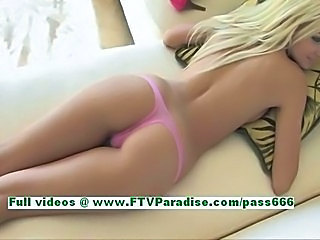 Amazing Ass Blonde Panty Teen