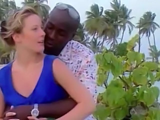 Blonde Cuckold European Interracial Outdoor Wife