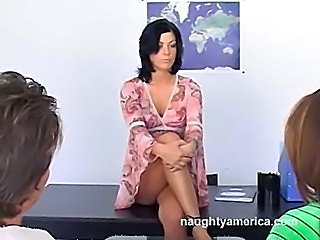 Brunette MILF Teacher