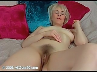 Blonde Hairy Mature Pussy Sleeping Small Tits