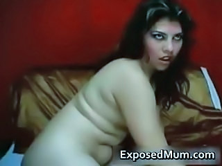 Pussy wide open with tight Latina MILF