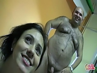 Amateur Brunette Bukkake Old and Young Teen