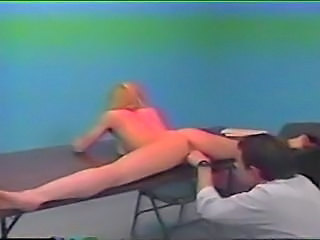 Amateur Blonde Flexible Masturbating Prison