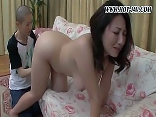 Asian Big Tits Hairy Mature Mom