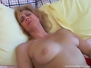 Amateur Blonde Mature Small Tits