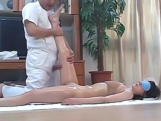 Japanese Lingerie Massage Oiled Teen