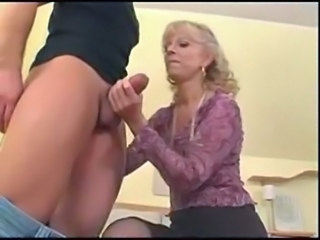 Blowjob Handjob Mature Mom