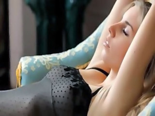 Amazing Blonde Erotic Small Tits Teen