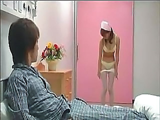 Asian Cute Japanese Lingerie Nurse Stripper Teen Uniform