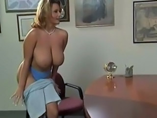 Incredibil Tate mari MILF Natural Birou Star porno Striper De epoca