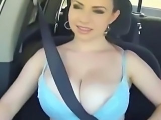 Big Tits Rally Racing!