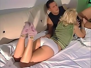 Ass Babe Blonde Blowjob European German Panty