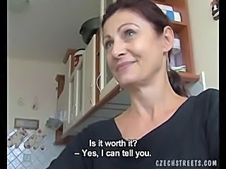 Amateur Blowjob Cash European Kitchen Mature MILF