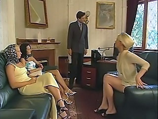 Blonde Secretary DP
