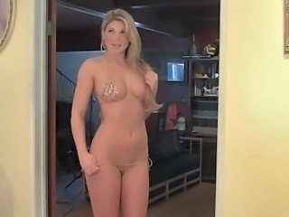 Amazing Bikini Cute Long hair MILF