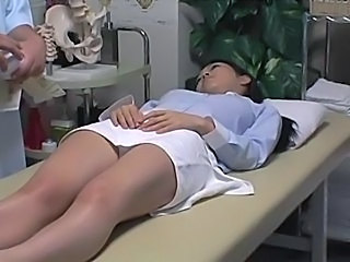 Asian  Massage MILF Voyeur