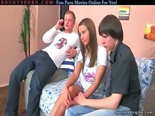 Russian Threesome Virgin Young