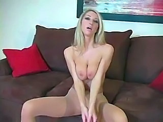 Blonde Natural Pantyhose Pornstar