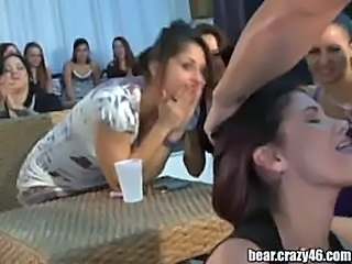 Babe Blowjob CFNM Party