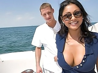 Amazing Big Tits Cute MILF Outdoor Pornstar Silicone Tits