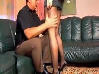 Legs Old and Young Panty Pantyhose Teen