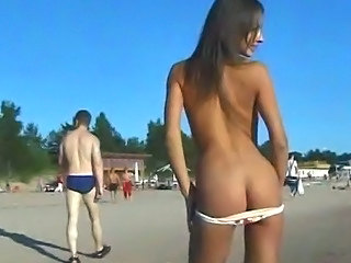 Amateur Ass Cute Nudist Outdoor Teen