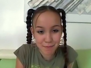 Amateur Cute Pigtail Teen