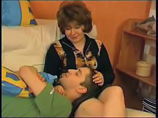Russian mom and son incest