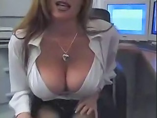 Slutty secretary wants some cock