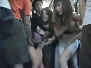 Asian Bus Cute Forced Gangbang Japanese Sister