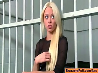 Babe Blonde Cute Long hair Pornstar Prison