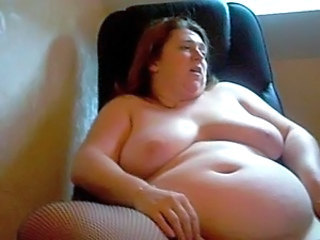 BBW Masturbating Mature SaggyTits Webcam